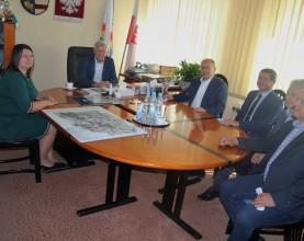 Delegacja z Urzędu Miejskiego w Końskich